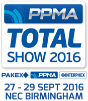 PPMA Total Show 2016: 27th - 29th September 2016