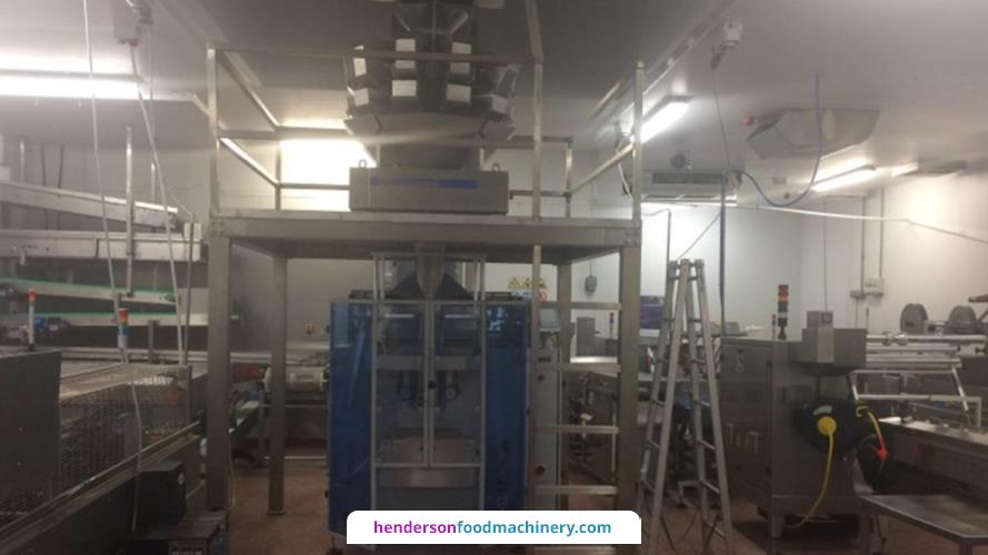 Saimo Multihead Weigher with VFFS Bagger