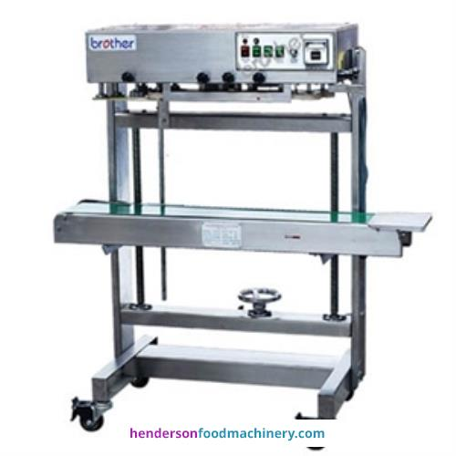 "<img src=""/images/logos/hfm.jpg"" alt=""logo"" align=""right"" class=""manlogo"" />Henderson FRL600 Vertical Bag Sealer"