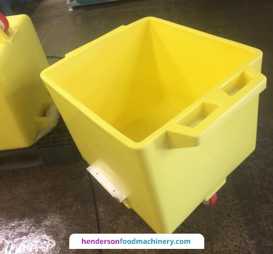 "<img src=""/images/logos/brokelmann.png"" alt=""logo"" align=""right"" class=""manlogo"" />200 Litre Yellow Tote Bins with Red Wheels"