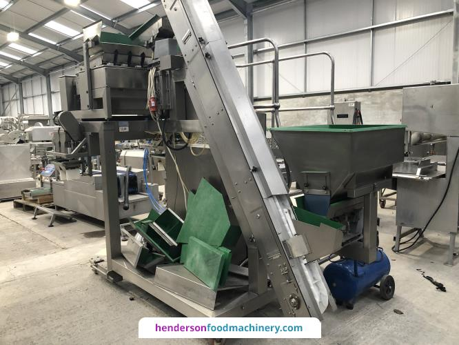 Ward Becker Linear  Multihead Weigher