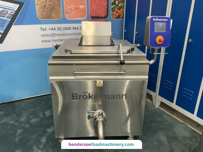 "<img src=""/images/logos/brokelmann.png"" alt=""logo"" align=""right"" class=""manlogo"" />Brokelmann 200 Litre Scrape Surface Electric Cooking Vessel"